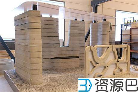1602554468-c3ff34a7e7d1230.jpg-插件-荷兰埃因霍温科技大学展示2米高3D打印混凝土结构