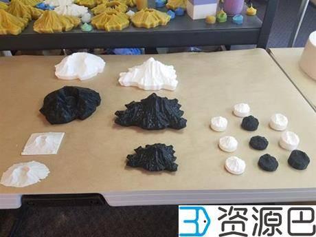 1602727266-a27913313425c32.jpg-插件-蜂蜡专家借3D打印技术将大山模型制成Cascadia蜡烛