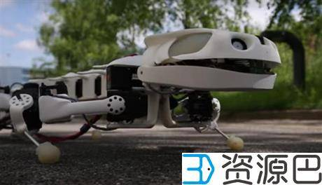 3D打印的仿蝾螈机器人可爬行还可在水下游泳插图7