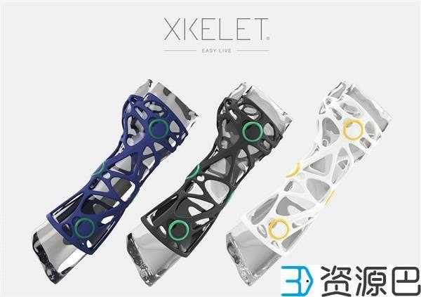 不怕挂彩!时尚感爆棚的3D打印手臂矫正器插图5