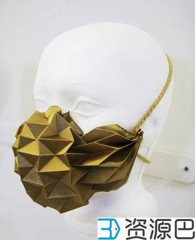 防雾霾神器,是时候有一个时尚的3D打印口罩了插图9