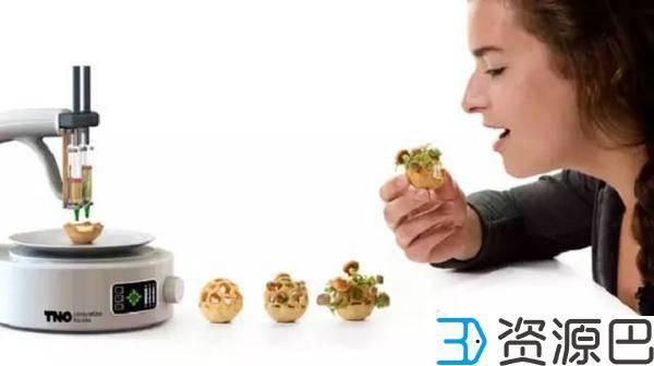 3D打印食物盆栽,饿了就吃掉!插图3