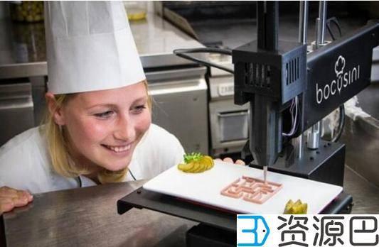 英国伦敦将开3D打印餐馆 人均消费2220元太惊人插图1