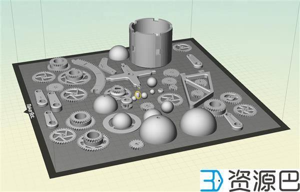 1607479264-cf44f6e6e6ba8e9.jpg-插件-DIY教程:3D打印出可自动运行的太阳系模型
