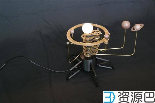 1607479265-50522518e096460.jpg-插件-DIY教程:3D打印出可自动运行的太阳系模型
