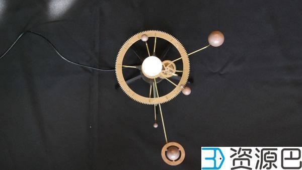 1607479265-829ff439406b256.jpg-插件-DIY教程:3D打印出可自动运行的太阳系模型