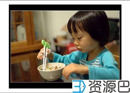 3D打印训练筷助宝宝吃饭香香插图7