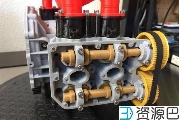 1607997672-5f947813b91ccea.jpg-插件-大神级建模师用3D打印造出可运转的斯巴鲁水平对置发动机