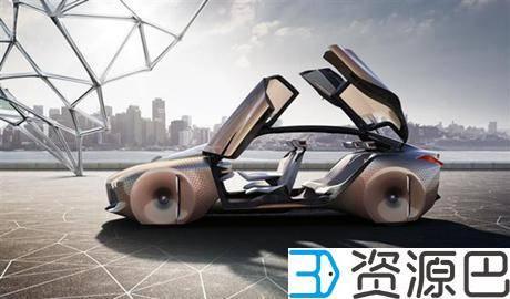 太性感了,宝马的4D打印概念车插图1