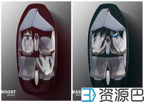 太性感了,宝马的4D打印概念车插图5