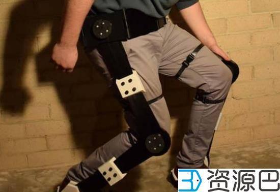 澳洲设计师用3D打印打造全套外骨骼:手足俱全插图3