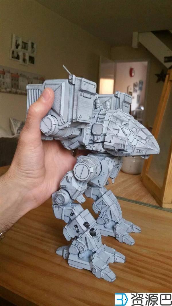 1608775266-f0c5ef7054d2cdb.jpg-插件-游戏迷看过来 3D打印《机甲战士》Catapult模型超逼真