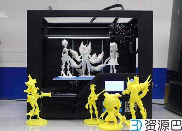 1609120865-b60c569ab9e3e5a.jpg-插件-看看这些3D打印《英雄联盟》精美手办,传统工艺已被取代了吗?