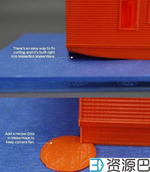 3D打印时模型翘边怎么办【翘边原因及解决办法】插图1