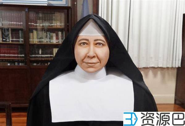 3D打印技术帮助科学家重现数百年前天主教圣徒面容插图5