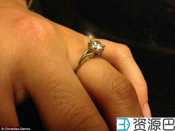 1611280866-0026df028719b92.jpg-插件-3D打印搞定钻戒只要100块!快去求婚吧!