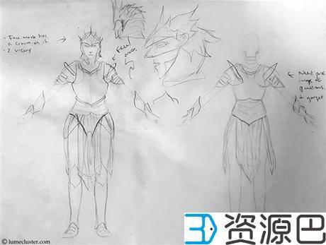 "1614304866-01c2913c856cd2f.jpg-插件-绝对惊艳!女设计师用3D打印打造""极客女皇""盔甲"