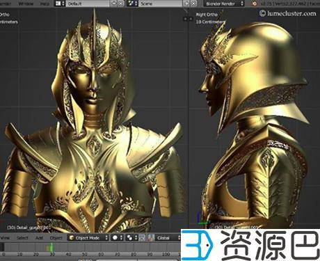 "1614304866-2afaaf174588fc6.jpg-插件-绝对惊艳!女设计师用3D打印打造""极客女皇""盔甲"