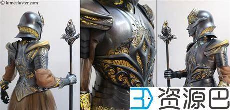 """1614304866-b8e385f0fac7a27.jpg-插件-绝对惊艳!女设计师用3D打印打造""""极客女皇""""盔甲"""