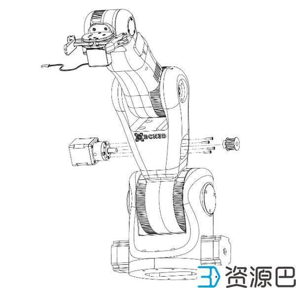 BCN3D公司推出开源低价3D打印机械手臂用于教育插图5