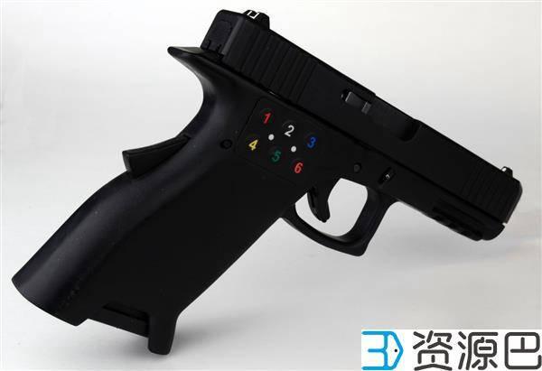 美国一团队开发出带密码锁的3D打印智能手枪插图1