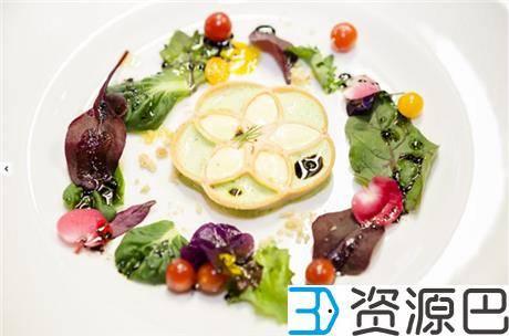 英国伦敦3D打印餐厅开张了 这些大餐看起来很好吃的样子插图19