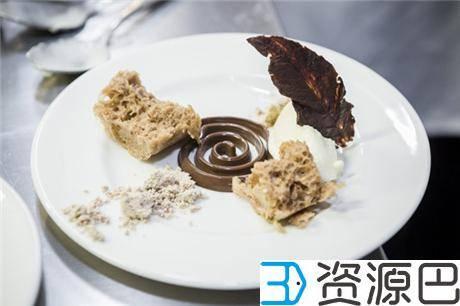 英国伦敦3D打印餐厅开张了 这些大餐看起来很好吃的样子插图11