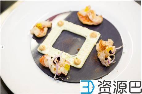 英国伦敦3D打印餐厅开张了 这些大餐看起来很好吃的样子插图7