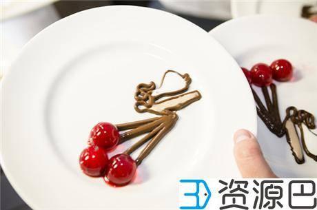 英国伦敦3D打印餐厅开张了 这些大餐看起来很好吃的样子插图5
