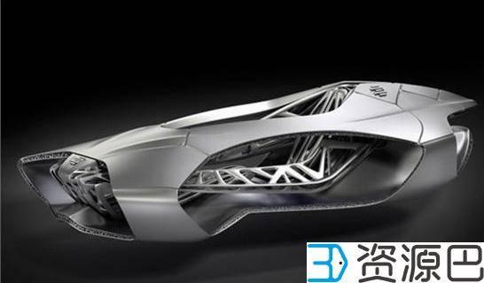 美国3D打印碳纤维自动驾驶电动汽车 系世界首创插图1