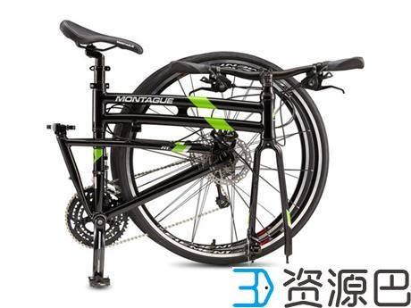 1616119268-454267356d37940.jpg-插件-美国Montague公司尝鲜3D打印技术 推出3D打印的可折叠自行车
