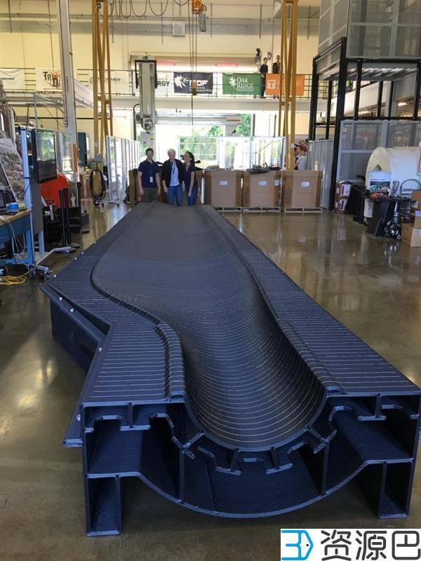 美国能源部AMO用3D打印制造出13米长风力涡轮叶片模具插图1