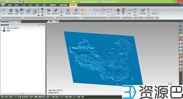 逆天3D打印史上最大的中国地图插图1