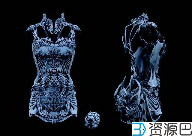 1617242465-0e3de066f95f078.jpg-插件-美得不要不要的 全球首款3D打印旗袍惊艳亮相