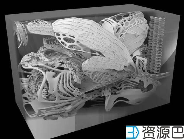 1617242465-8d9f4f5a69360a1.jpg-插件-美得不要不要的 全球首款3D打印旗袍惊艳亮相