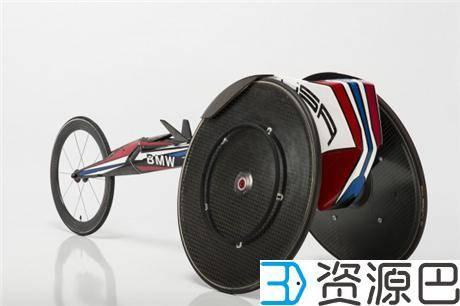 宝马助力2016残奥会 为美国运动员定制用3D打印气动竞速轮椅插图5