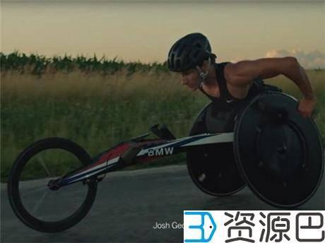 宝马助力2016残奥会 为美国运动员定制用3D打印气动竞速轮椅插图1