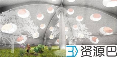 1617847270-030ebe6c0a35358.jpg-插件-印尼建筑师欲在莫哈维沙漠3D打印火星城市栖息地原型