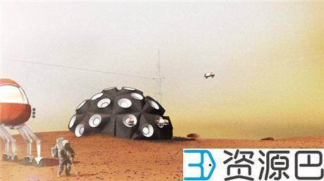 1617847270-8482f4d2e1c7378.jpg-插件-印尼建筑师欲在莫哈维沙漠3D打印火星城市栖息地原型