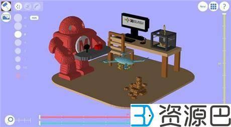 盘点十款评价最高的免费3D建模软件 3D打印必备利器(上篇)插图3
